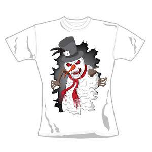 Evil Snowman T-Shirt Official Loud Clothing