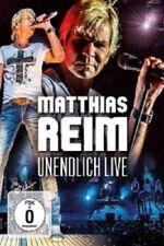 MATTHIAS REIM - UNENDLICH LIVE  DVD  DEUTSCHER SCHLAGER  NEW+