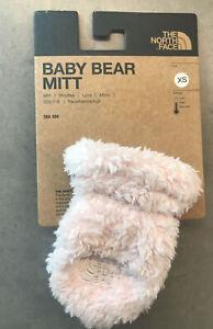 The North Face Baby Bear Mitt Fleece Mittens Purdy Pink XS $25