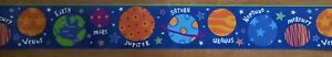 Planets Children's pre-pasted Wallpaper Border space planets BS5379BD SureStrip