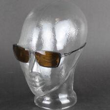 Occhiali da sole da uomo con montatura in nero con lenti in marrone da Stati Uniti