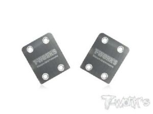 Tworks TO-220 Rear Chassis Skid Plate 1/8th Buggy - Kyosho, AE, Mugen, TLR