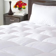 Drimbringer Mattress Pad Cover Topper Protector Quilted Fitted Twin Size Top
