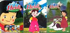 HEIDI DVD SET La Nina de los Alpes Serie Completa, 52 Capitulos Español Latino
