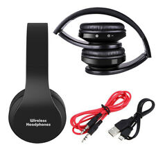 Wireless Bluetooth Headphone Foldable Stereo Earphones Super Bass Headset Mic Us