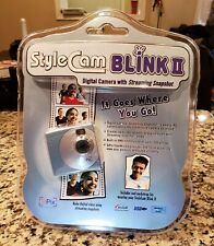 New SiPix Style Cam Blink II Digital Camera w/ Streaming Snapshot Blue VTG 8MB!
