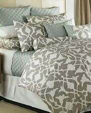 NEW! Barbara Barry Poetical Duvet Cover  Silver:Full/Queen Size **140.00 Value**