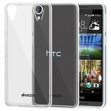 AMZER Exclusive Pudding Matte TPU Skin Case For HTC Desire 820 820G Plus - Clear