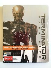 Terminator Dark Fate 4k BLURAY Steelbook Limited Edition HDR UHD Cameron
