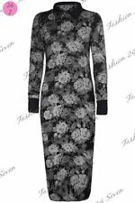 Polyester Long Sleeve Floral Work for Women
