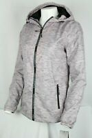 New Balance Women's Water Resistant Hooded Lightweight Jacket Small Light Purple