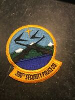 """Rare Vtg Vietnam Cold War 70s 80s 380th Security Police Squadron Patch 3"""" USAF"""