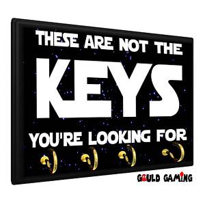 Star Wars Key Holder Keys Organizer Hanger Wall Mount Jedi Sith Force Imperial