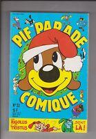PIF PARADE COMIQUE n°22 - Vaillant décembre 1990 - ETAT NEUF
