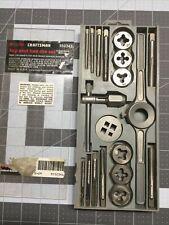 Craftsman 19 Piece Tap And Hex Die Set 952341