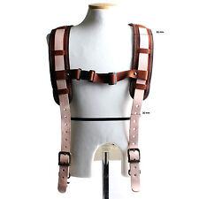 Working Tool Belt Suspenders Adjustable Length Leather KL-2110 KOREA