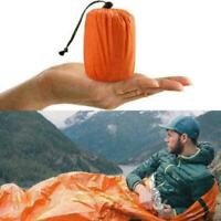 1PC Outdoor First-Aid Survival Emergency Tent Blanket Bag Camping Sleep G3L H1V4