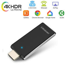 4K Mirascreen TV Stick Real Time Video Mirroring Wireless HDMI Receiver Dongle