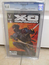 X-O Manowar #5 Zircher 1:50 Ninjak Variant Cover CGC 9.4 NM/MT Valiant Comics