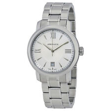Aerowatch Renaissance Silver Dial Stainless Steel Mens Watch A 42937 AA01 M