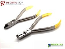 Orthodontic Wire Cutters, Distal End, Ligature Wire Pliers,Pin and Archwires,New