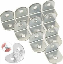 19mm RIGHT ANGLE BRACKETS Small Corner Cabinet 90 Degree Strengthen Reinforce UK