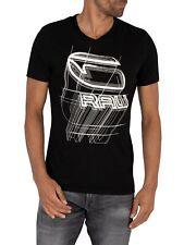 G-Star Men's Perspective Logo T-Shirt, Black