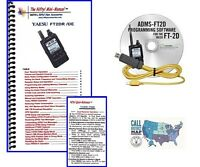 Yaesu FT-2DR Accessory Bundle -- With Nifty! Mini-Manual & RT Systems Prog. Kit!