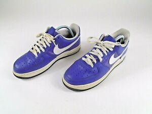 Air Force 1 Low Womens Size 10 Purple Vintage 2008 Rare No Insoles