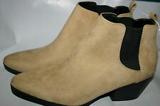 NWT Women's Old Navy Ankle Boots Shoes Faux Suede Size 8 Medium