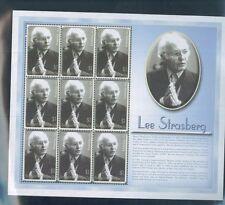 Lee Strasberg Method Acting Commemorative Souvenir Stamp Sheet #2588 Antigua E69