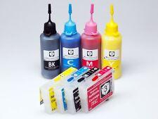 Refillable PIGMENT 220 ink cartridges kit for Epson XP-220 XP-320 XP-324 XP-420