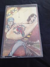 AC/DC DIRTY DEEDS CASSETTE TAPE FULL ARTWORK AUSTRALIA ALBERT PRODUCTIONS RARE