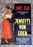JAMES DEAN * JENSEITS VON EDEN - A1-FILMPOSTER WA Ger 1-Sheet EAST OF EDEN RR70s