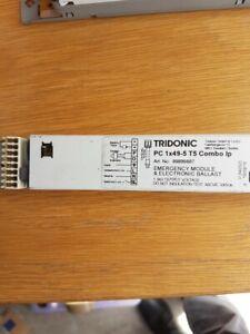 Tridonic PC1x49 T5 Combo IP Digital Emergency/Ballast Combo Runs 1 x 49w T5