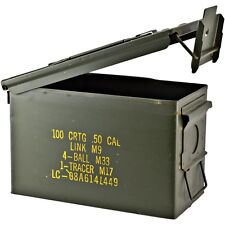Military Surplus Ammo Cans - 50 Cal