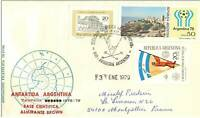 TIMBRES.N°2872.EXPEDITION POLAIRE.ANTARTIDA ARGENTINA-MONTPELLIER FRANCE.BASE CI