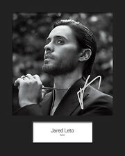 JARED LETO #4 Signed 10x8 Mounted Photo (REPRINT) - FREE DELIVERY