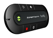 Handsfree Bluetooth Visor Speakerphone Car Kit Smartphone Supertooth Buddy UK