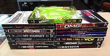 WWE lot of 13 wrestling dvds Sets DVD Discs Stone Cold Batista Shawn Michaels