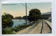 (Gw808-449) River Dam, ELKHART, Indiana, USA c1910 VG-EX