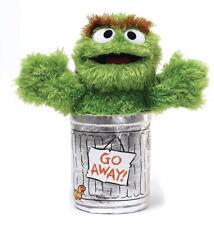 "Sesame Street OSCAR THE GROUCH stuffed animal 10""/25cm soft plush toy GUND - NEW"