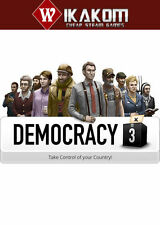 Democracy 3 Steam Digital NO DISC/BOX **Fast Delivery!**