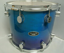 """ADD this PDP by DW LX SERIES 14"""" BLUE FADE TOM to YOUR DRUM SET TODAY! LOT #K221"""