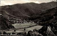 FREIBURG Breisgau AK 50/60er Jahre alte Ansichtskarte Häuser Partie Günterstal