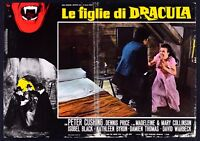 T108 Fotobusta Die Töchter Von Dracula Peter Cushing Dennis Price Isobel Black