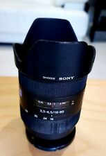 Sony SAL-1680Z Carl Zeiss Vario-Sonnar T DT 16-80mm f/3.5-4.5 cameras lens
