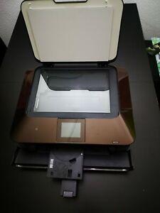 Canon Drucker MG7150 braun 3 in 1 W-Lan Drucker, Scanner, Kopierer CD Drucker