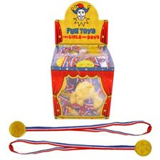Henbrandt Gold Medal - Medals Winners Sports Day Party Bag 120 Plastic Prize