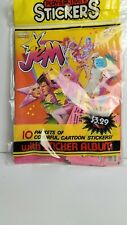 Vintage 1986 Jem and the Holograms Play & Activity Sticker Book New Unopen